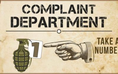 Want to complain?