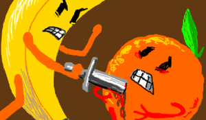 Orange vs Banana