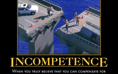 Why your incompetence is useful