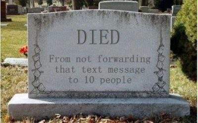 What I want on my tombstone