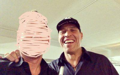 Fancy a selfie with Tony Robbins?