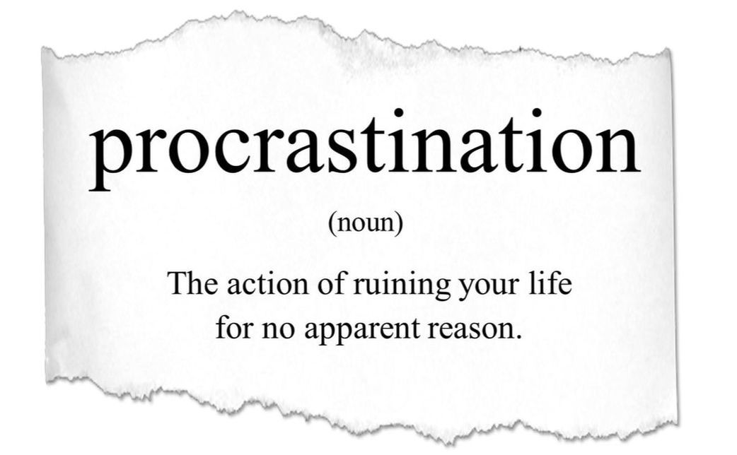 The REAL reasons you procrastinate