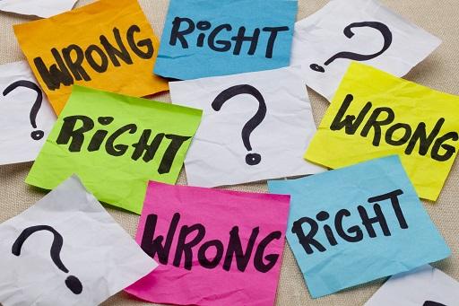 The ethical non-dilemma