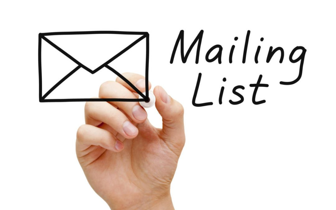 How to build your email list – fast!